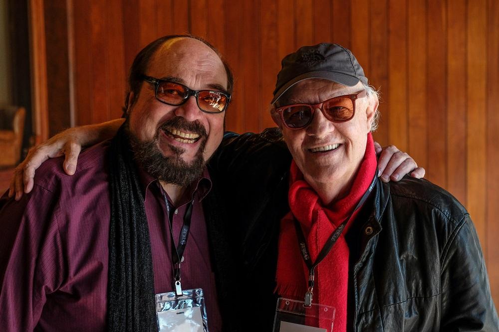 Ney Latorraca e Rubens Ewald Filho.