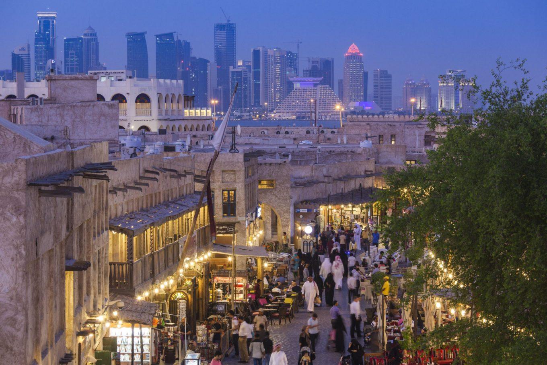Ruas de Doha