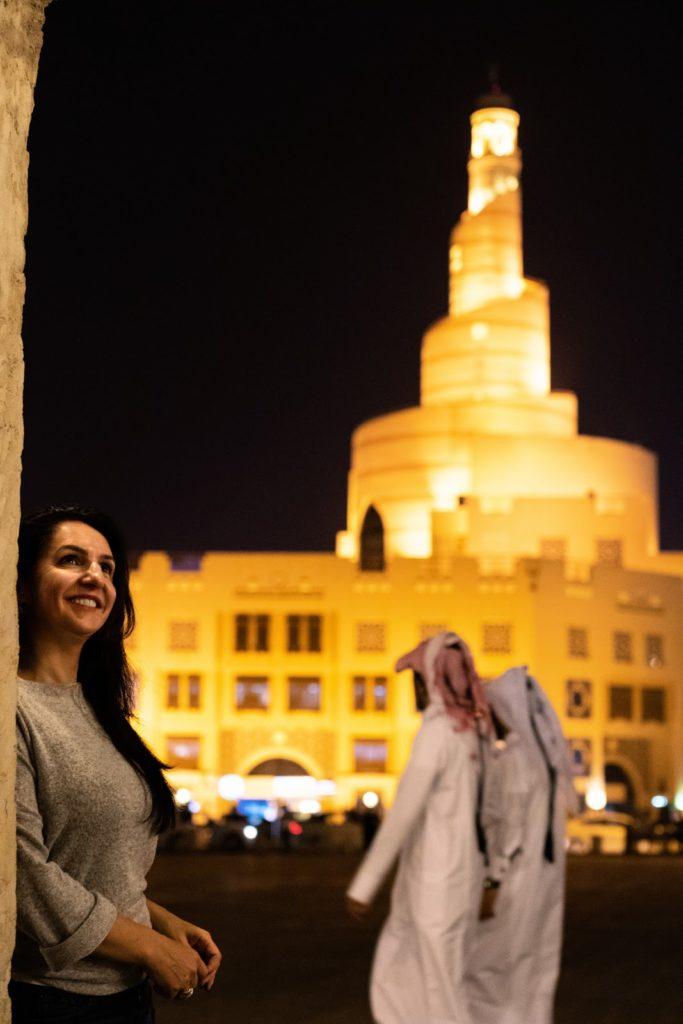 Leila Martinez em Doha
